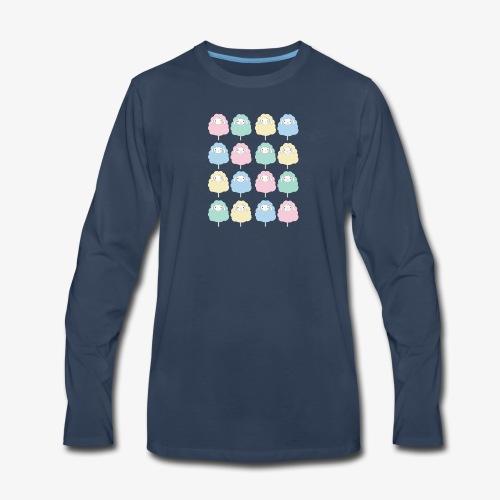 Sheep Patterns - Men's Premium Long Sleeve T-Shirt