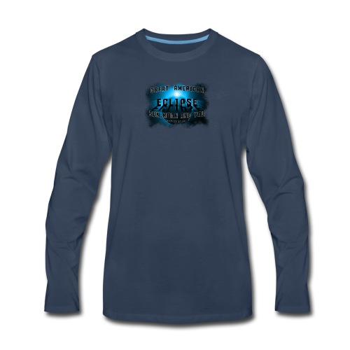 Total Solar Eclipse Summer August 21st 2017 - Men's Premium Long Sleeve T-Shirt