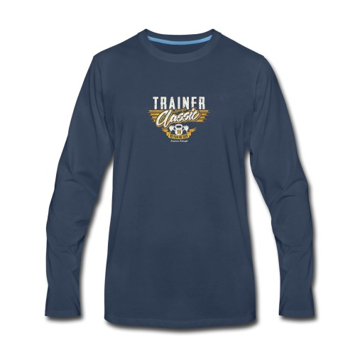 Trainer - Men's Premium Long Sleeve T-Shirt