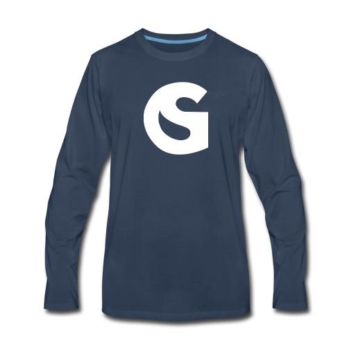 SimulationGuru Icon - Men's Premium Long Sleeve T-Shirt