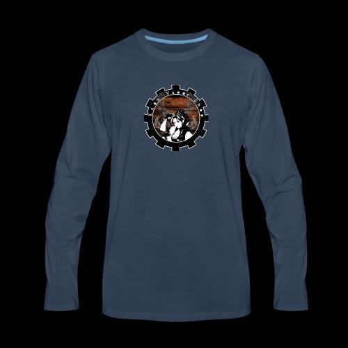 Knox Vapor Shop - Men's Premium Long Sleeve T-Shirt