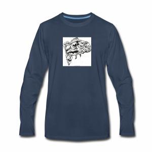 Bass T-shirt - Men's Premium Long Sleeve T-Shirt