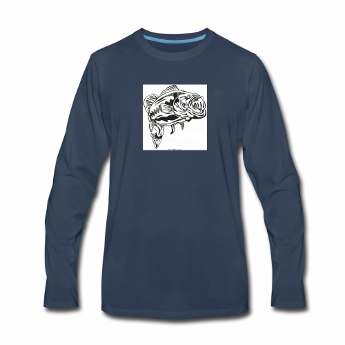 Bass T-shirt - Men's Premium Long Sleeve T-Shirt