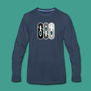 Silverman Sound Studios Logo - Men's Premium Long Sleeve T-Shirt