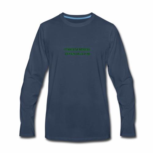 PARANORMAL INVESTIGATOR - Men's Premium Long Sleeve T-Shirt