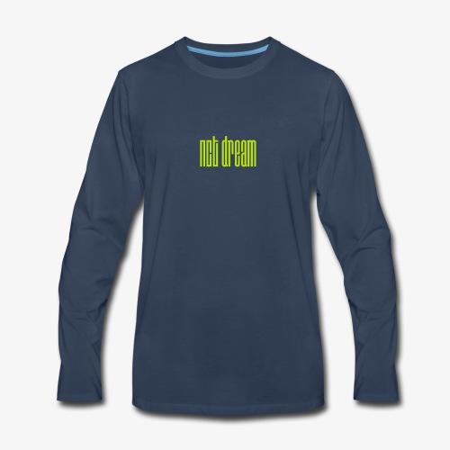 NCT Dream Logo Green - Men's Premium Long Sleeve T-Shirt
