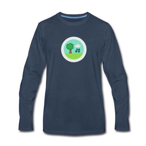 MelodyPark Server Logo - Men's Premium Long Sleeve T-Shirt