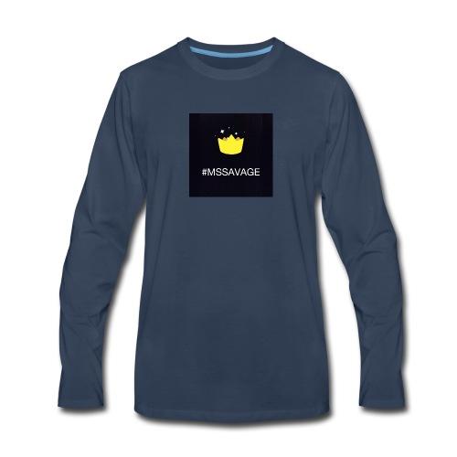 #MSSAVAGE merch - Men's Premium Long Sleeve T-Shirt
