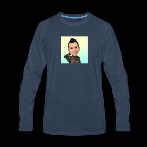 Cartoon - Men's Premium Long Sleeve T-Shirt