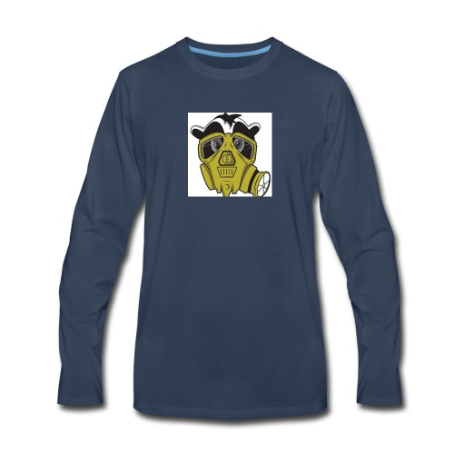 gasmask panda - Men's Premium Long Sleeve T-Shirt