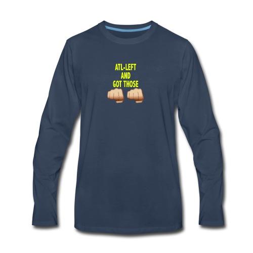 AltLeft Got Those Hands - Men's Premium Long Sleeve T-Shirt