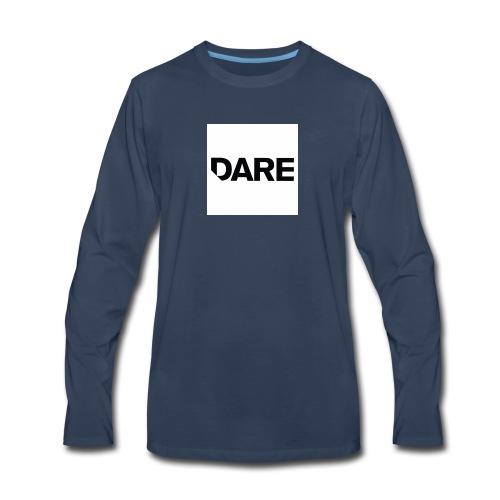 Dare logo - Men's Premium Long Sleeve T-Shirt