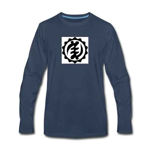 kente symbol - Men's Premium Long Sleeve T-Shirt