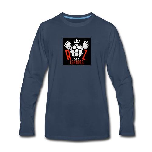 Rz Logo - Men's Premium Long Sleeve T-Shirt