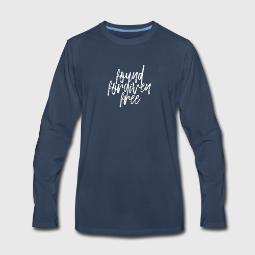 Found Forgiven Fee - Men's Premium Long Sleeve T-Shirt