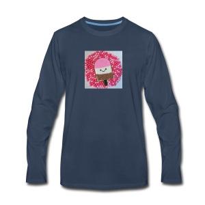 Kawaii ice cream cookies - Men's Premium Long Sleeve T-Shirt