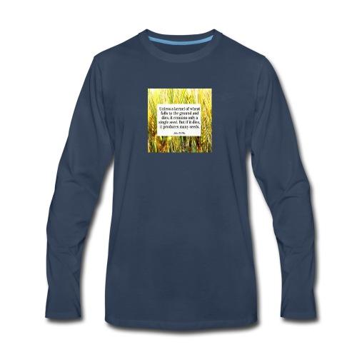 Seed Sower - Men's Premium Long Sleeve T-Shirt