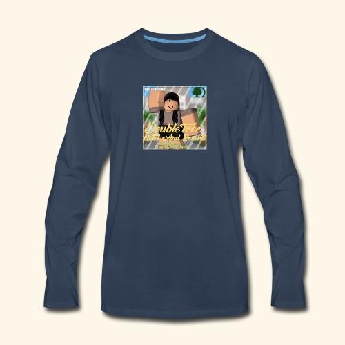 DoubleTrees Offical Logo - Men's Premium Long Sleeve T-Shirt