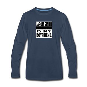 Jarom IS MY BOYFRIEND WORDS - Men's Premium Long Sleeve T-Shirt