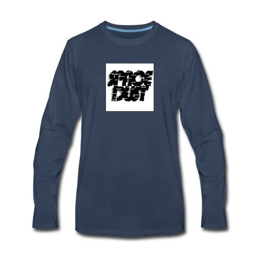 space dust brush - Men's Premium Long Sleeve T-Shirt