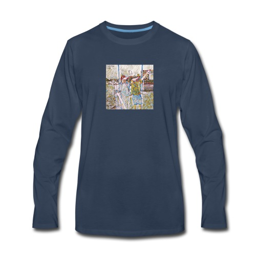 Do The Dab x2 - Men's Premium Long Sleeve T-Shirt
