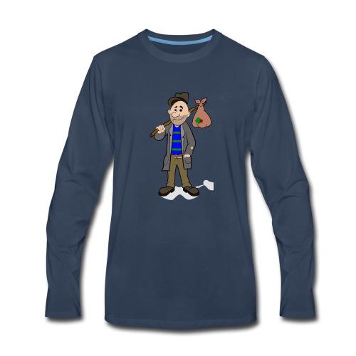hobo5 by dorisofsign d8ddy20 - Men's Premium Long Sleeve T-Shirt