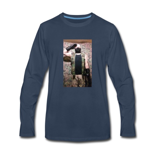 Wolf Paradox , reporting for duty - Men's Premium Long Sleeve T-Shirt