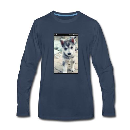 Husky - Men's Premium Long Sleeve T-Shirt