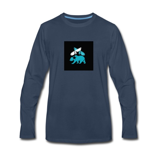 skateboard design - Men's Premium Long Sleeve T-Shirt