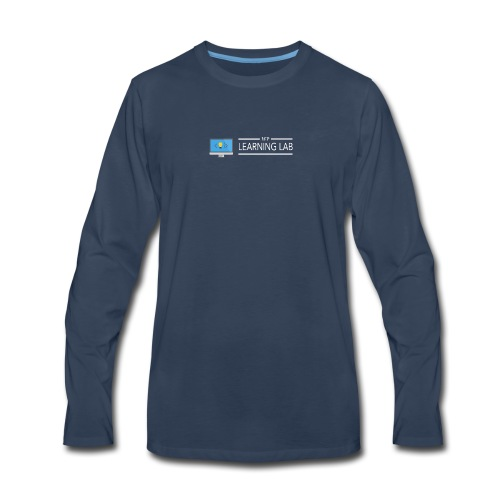 WP Learning Lab Logo - Men's Premium Long Sleeve T-Shirt