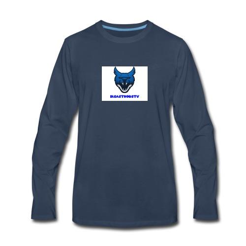 DisastrousTv MERCH - Men's Premium Long Sleeve T-Shirt