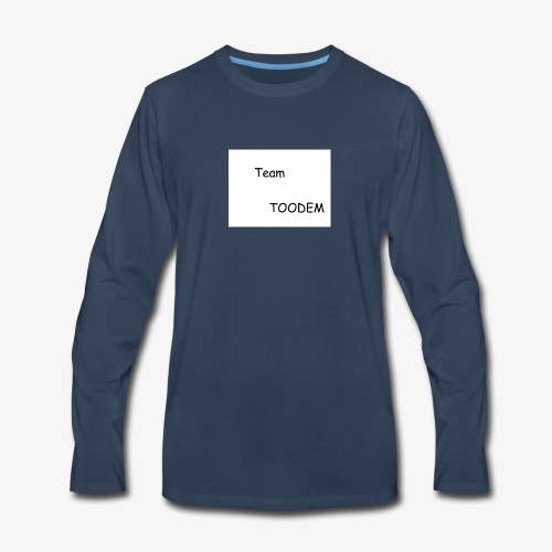 TEAMTOODEM - Men's Premium Long Sleeve T-Shirt
