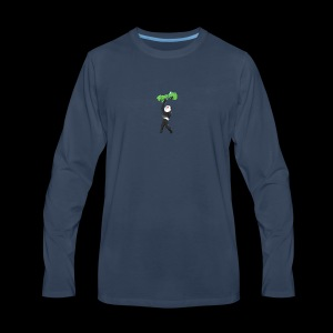 Cool Mine Craft Design - Men's Premium Long Sleeve T-Shirt