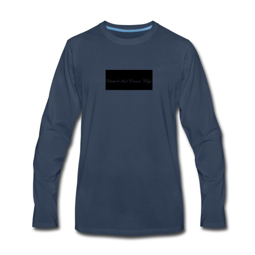 Edward and connor vlogs - Men's Premium Long Sleeve T-Shirt