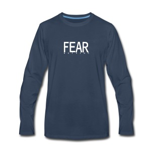 FEAR_NOTHING - Men's Premium Long Sleeve T-Shirt
