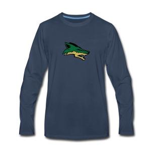 Skyline Coyote - Men's Premium Long Sleeve T-Shirt