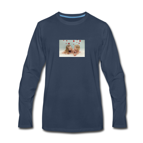Liv and Viv - Men's Premium Long Sleeve T-Shirt