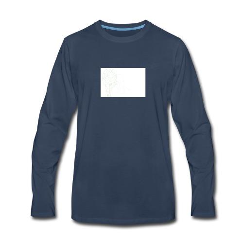 Lion Outlined image for shirt - Men's Premium Long Sleeve T-Shirt