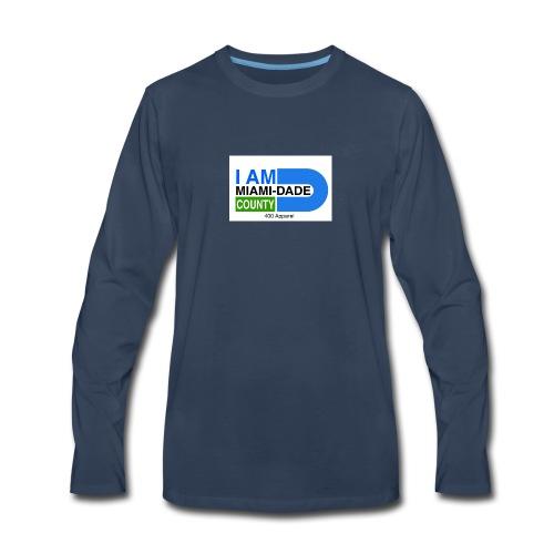 I Am Miami_Dade - Men's Premium Long Sleeve T-Shirt