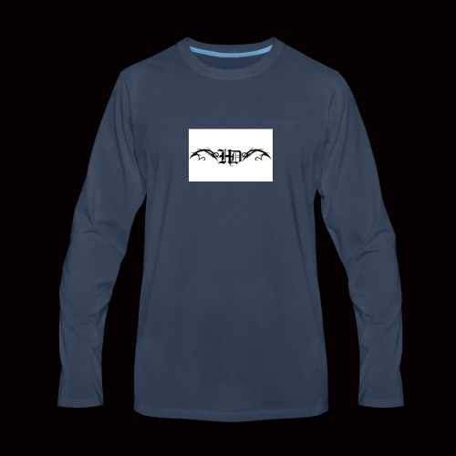 Dragon Wings - Men's Premium Long Sleeve T-Shirt