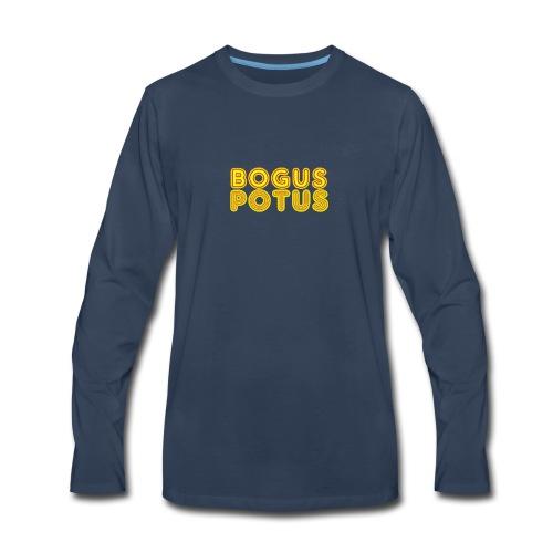 bogus potus - Men's Premium Long Sleeve T-Shirt