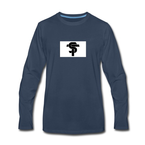 ST Logo - Men's Premium Long Sleeve T-Shirt