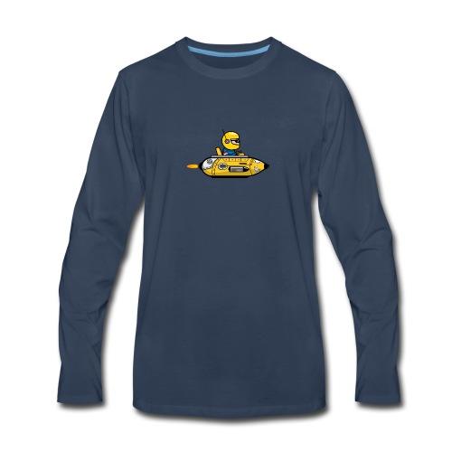 Yellow space marine - Men's Premium Long Sleeve T-Shirt
