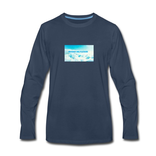 Guard Me Please - Men's Premium Long Sleeve T-Shirt