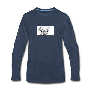 Children are a gift from the Lord-Psalm 127 - Men's Premium Long Sleeve T-Shirt