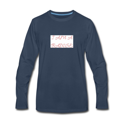 Bawse - Men's Premium Long Sleeve T-Shirt