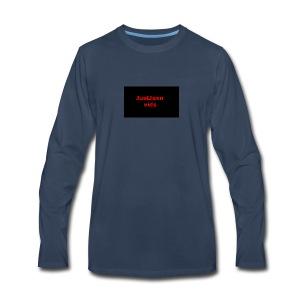 JustJaxn vids Hoodie - Men's Premium Long Sleeve T-Shirt
