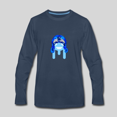 ALIENS WITH WIGS - #TeamMu - Men's Premium Long Sleeve T-Shirt