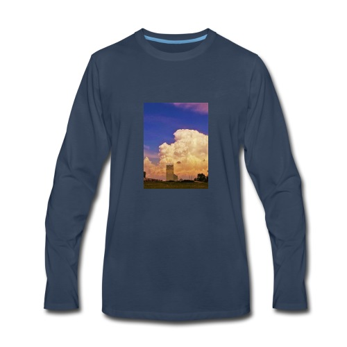 stormy elevator - Men's Premium Long Sleeve T-Shirt