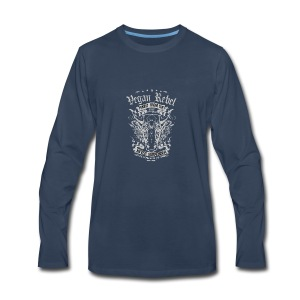 Vegan Rebel - Men's Premium Long Sleeve T-Shirt